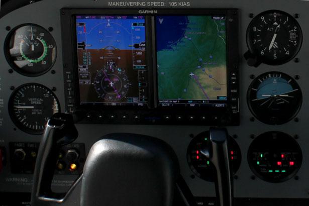RedHawk Flight Training Aircraft Fuel Selector