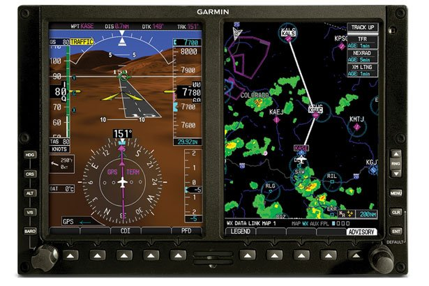 RedHawk Flight Training Aircraft Interior