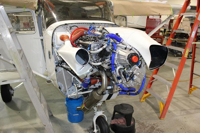 RedHawk Aircraft Rebuilt