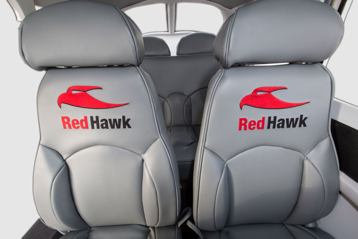 RedHawk Aircraft Interior