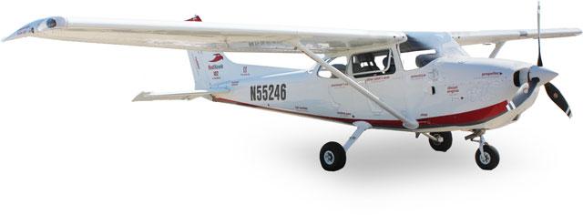 RedHawk airplane on ramp